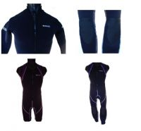Blue Rush Mens 3mm Jacket & Johns Wetsuit